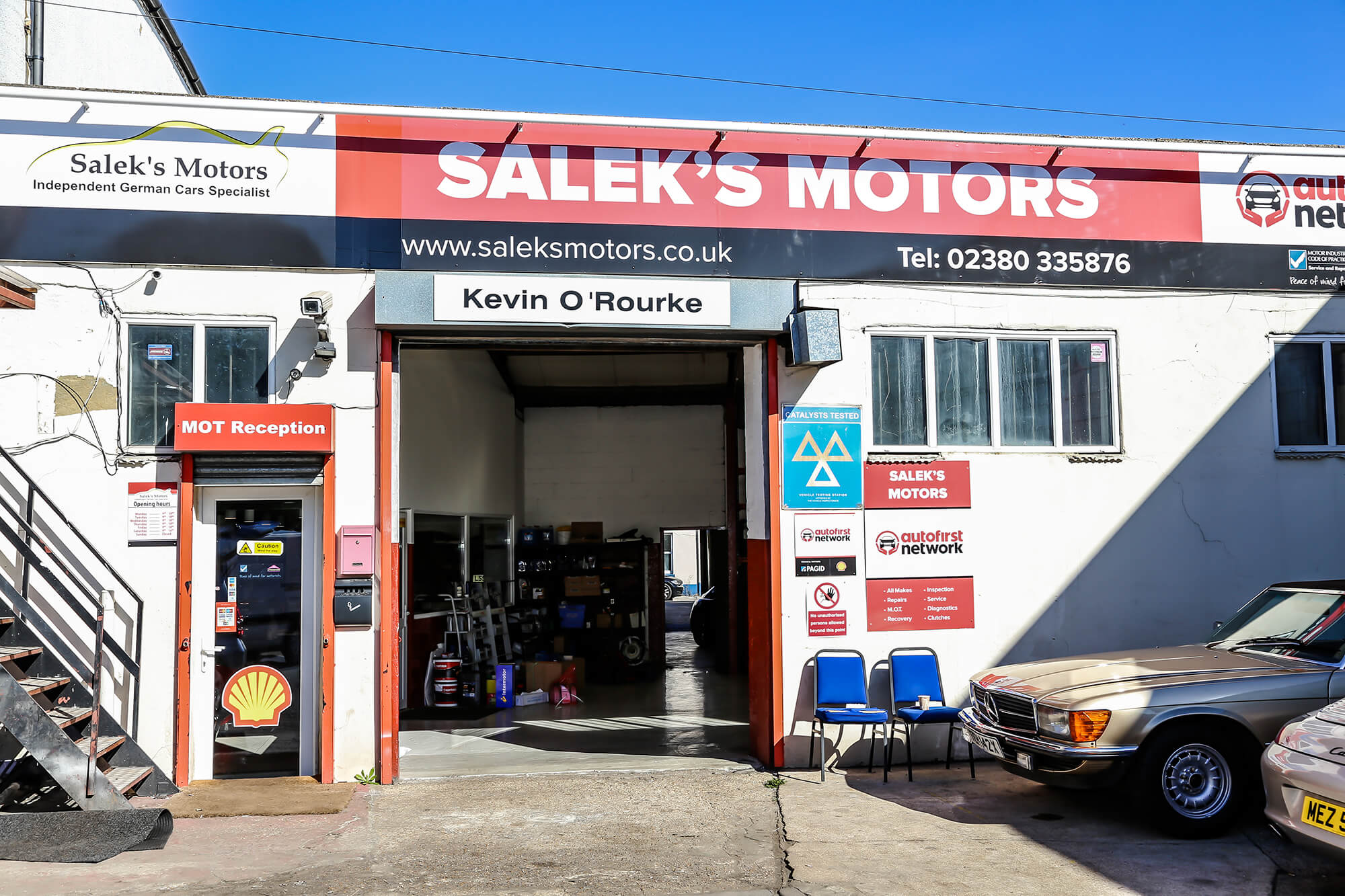 Vehicle Repairs in Southampton